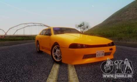 Elegy Hatchback v.1 für GTA San Andreas linke Ansicht