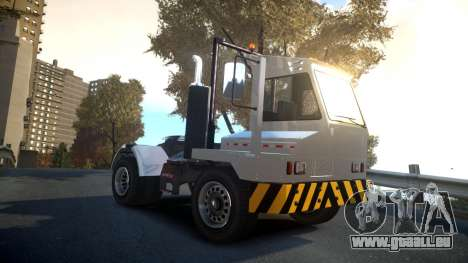 GTA V Dock Tug für GTA 4 Rückansicht