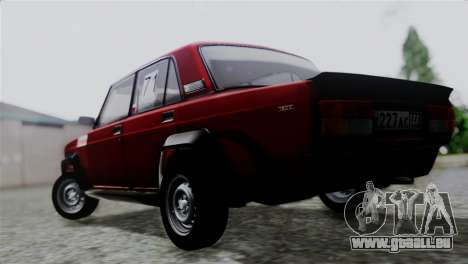 VAZ 2105 für GTA San Andreas linke Ansicht