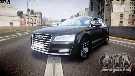 Audi A8 L 2015 Chinese style pour GTA 4