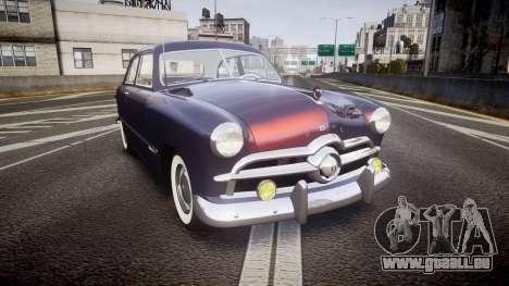 Ford Custom Tudor 1949 v2.2 pour GTA 4
