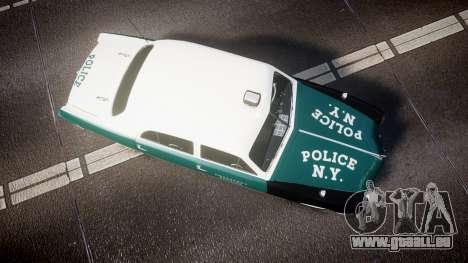 Ford Custom Fordor 1949 New York Police pour GTA 4 est un droit