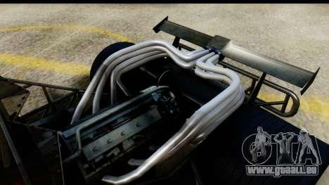 Flip Car 2012 pour GTA San Andreas sur la vue arrière gauche
