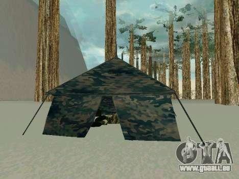Tente pour GTA San Andreas troisième écran