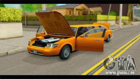 GTA 5 Dundreary Stretch für GTA San Andreas Rückansicht