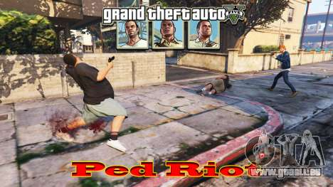 GTA 5 Ped Riot (ein Aufstand der Bürger von Los Santos