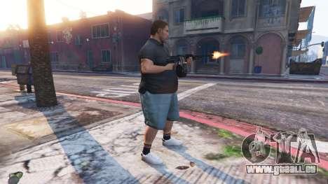 GTA 5 Ped Riot (ein Aufstand der Bürger von Los Santos vierten Screenshot