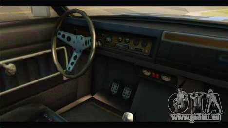 GTA 5 Benefactor Glendale Special für GTA San Andreas rechten Ansicht