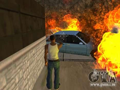 Surdosage effets (sans poussière) pour GTA San Andreas