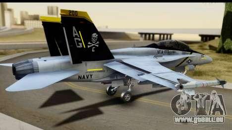 FA-18D VFA-103 Jolly Rogers pour GTA San Andreas laissé vue