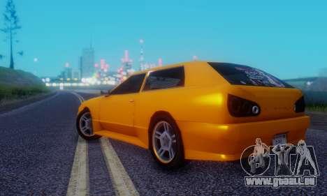 Elegy Hatchback v.1 für GTA San Andreas rechten Ansicht