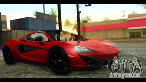 McLaren 570S 2015 für GTA San Andreas