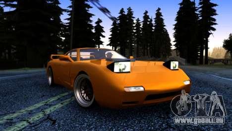 ZR-350 by Verone v.1 pour GTA San Andreas vue arrière