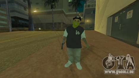 Los Santos Vagos Skin Pack pour GTA San Andreas deuxième écran