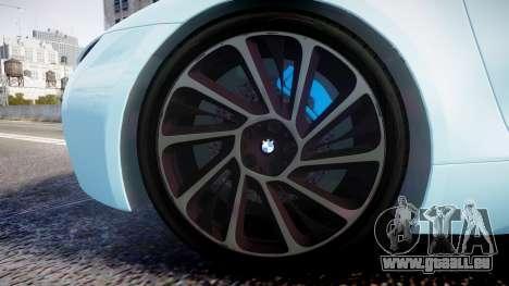 BMW i8 2013 pour GTA 4 Vue arrière