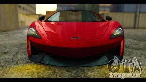 McLaren 570S 2015 pour GTA San Andreas vue de droite