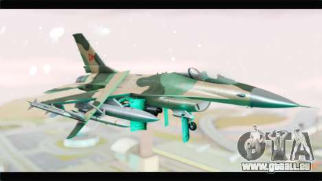 F-16A Fuerza Aerea Venezolana pour GTA San Andreas