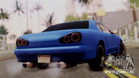 Elegy Full Customizing pour GTA San Andreas laissé vue