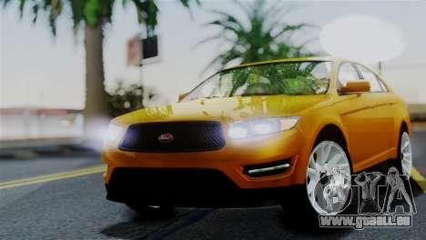 Vapid Interceptor v2 SA Style für GTA San Andreas
