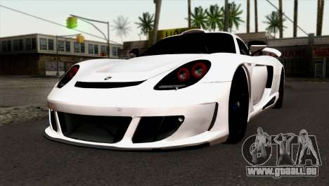 Gemballa Mirage GT v2 Windows Up pour GTA San Andreas