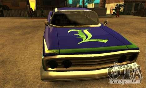 Luni Voodoo für GTA San Andreas obere Ansicht