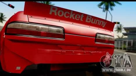 Nissan Silvia S13 Rocket Bunny für GTA San Andreas rechten Ansicht