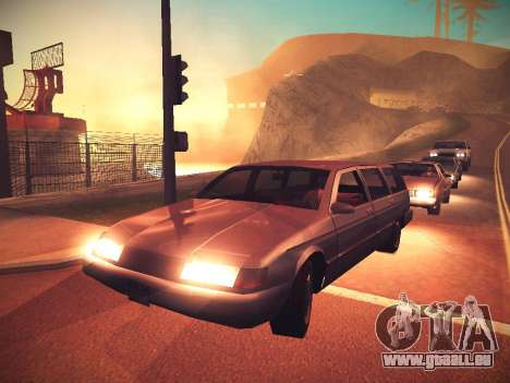 ENB Caramelo pour GTA San Andreas deuxième écran