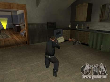CORDON de Battelfield 2 pour GTA San Andreas troisième écran