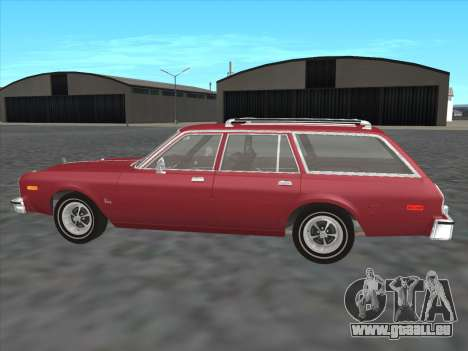 Plymouth Volare Wagon 1976 pour GTA San Andreas laissé vue