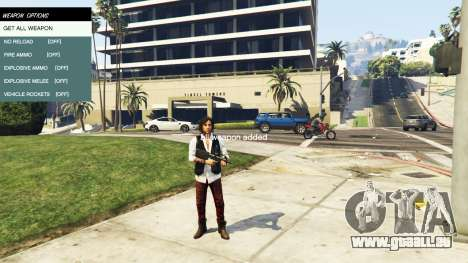 GTA 5 Native Trainer fünfter Screenshot