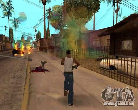 Rainbow Effects pour GTA San Andreas onzième écran