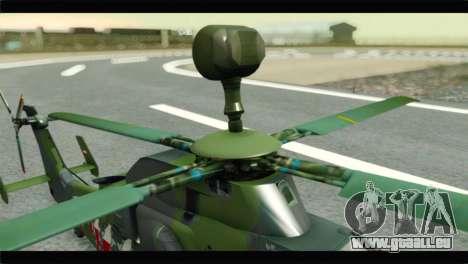 Eurocopter Tiger Polish Air Force pour GTA San Andreas vue arrière