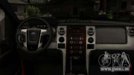 Ford F150 Off Road für GTA San Andreas rechten Ansicht