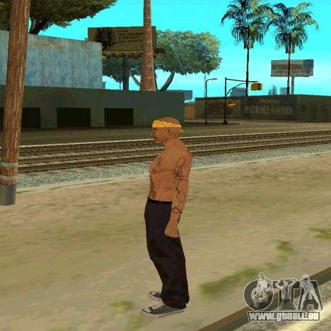 Macheter Vagos pour GTA San Andreas deuxième écran