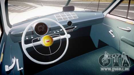 Ford Custom Fordor 1949 v2.2 für GTA 4 Rückansicht