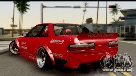 Nissan Silvia S13 Rocket Bunny pour GTA San Andreas laissé vue