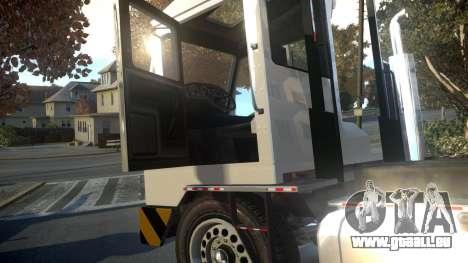 GTA V Dock Tug für GTA 4 Innenansicht