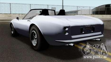 GTA 5 Grotti Stinger v2 IVF pour GTA San Andreas laissé vue