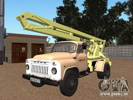 GAZ 52 Skylift pour GTA San Andreas