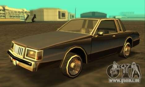 Majestic Restyle pour GTA San Andreas laissé vue