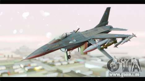 F-16C Hellenic Air Force für GTA San Andreas