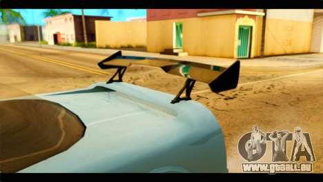 Infernus Rapide GTS Stock pour GTA San Andreas vue de droite
