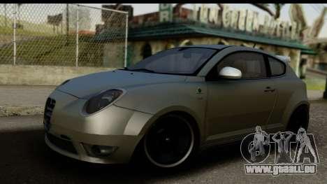 Alfa Romeo Mito Tuning pour GTA San Andreas