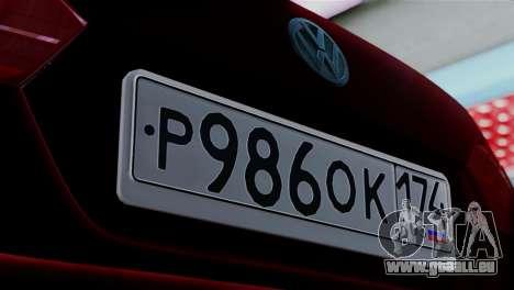Volkswagen Jetta Stance pour GTA San Andreas sur la vue arrière gauche