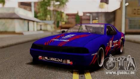 Elegy Full Customizing pour GTA San Andreas vue de côté