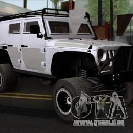 jeep wrangler 2013 fast furious edition pour gta san andreas. Black Bedroom Furniture Sets. Home Design Ideas