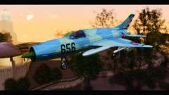 MIG-21MF Cuban Revolutionary Air Force pour GTA San Andreas