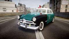 Ford Custom Fordor 1949 New York Police