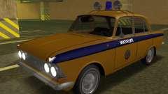 Moskwitsch 408 Polizei