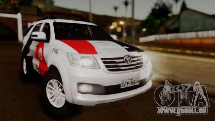 Toyota Hilux SW4 2014 Forca Tatica pour GTA San Andreas